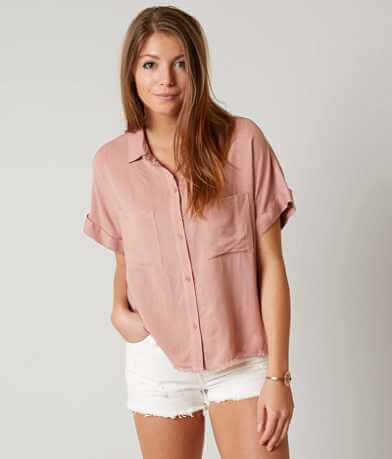 willow & root Raw Edge Shirt