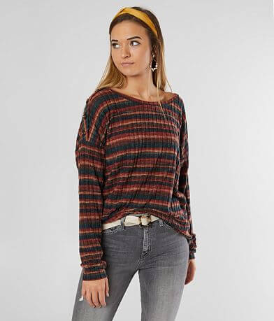 BKE Brushed Rib Top