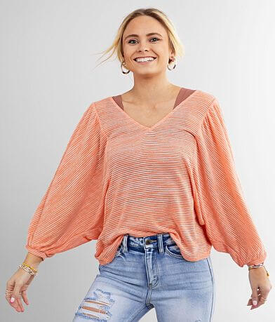 Daytrip Ribbed Dolman Top
