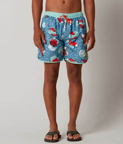 Rowdy Gentleman Crush It Printed Boardshort