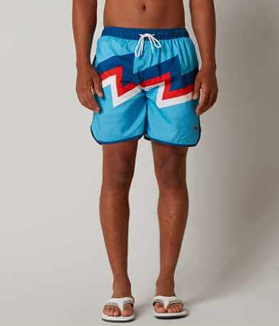 Rowdy Gentlemen The Streakers Printed Boardshort