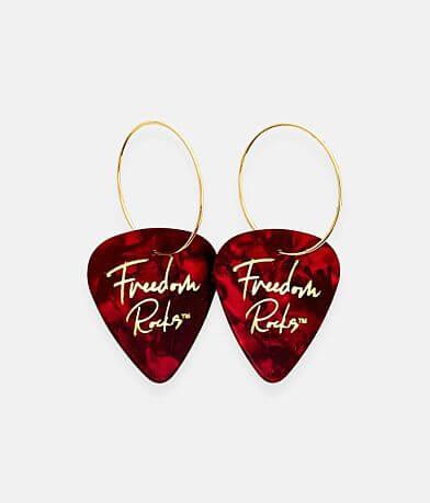 Groupie Love® Freedom Guitar Pick Earring