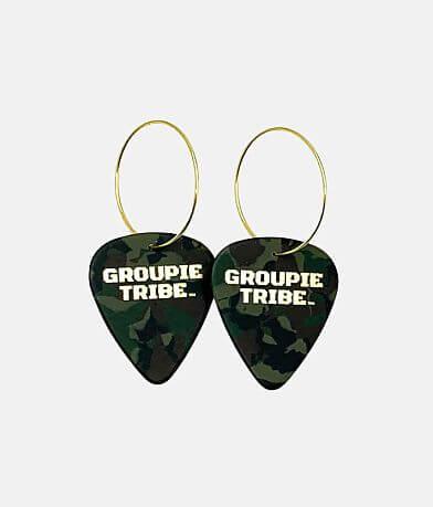 Groupie Love® Camo Guitar Pick Earring