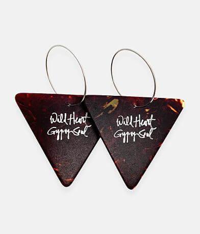 Groupie Love® Triangle Guitar Pick Earring