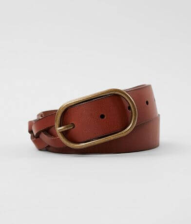 Indie Spirit Designs Woven Leather Belt