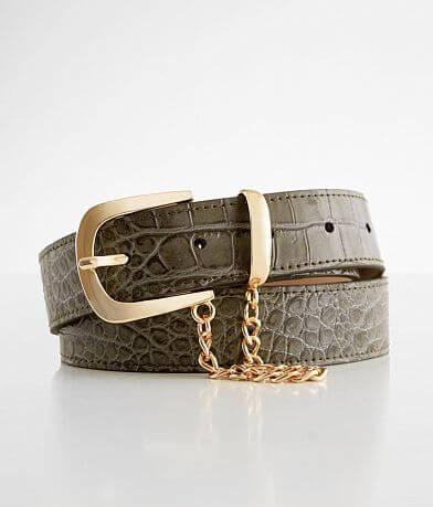 BKE Crocodile Printed Belt