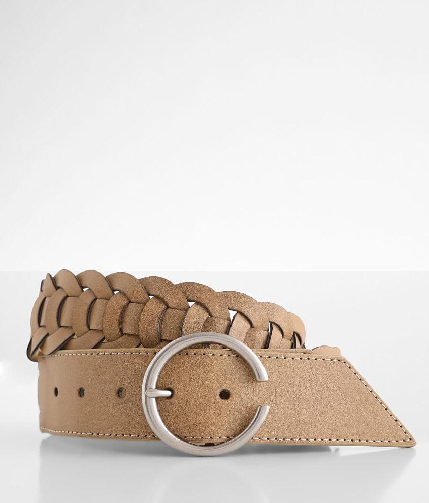 BKE Circle Weaved Belt front view