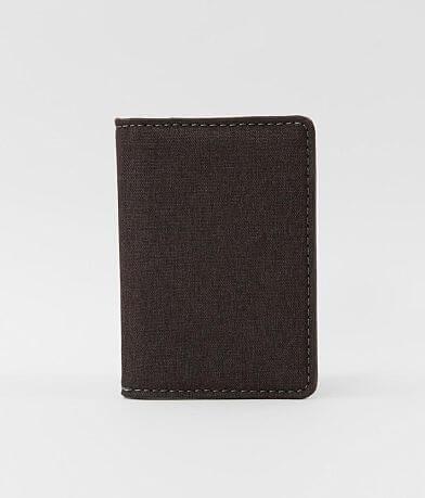 BKE Woven Bifold Card Wallet