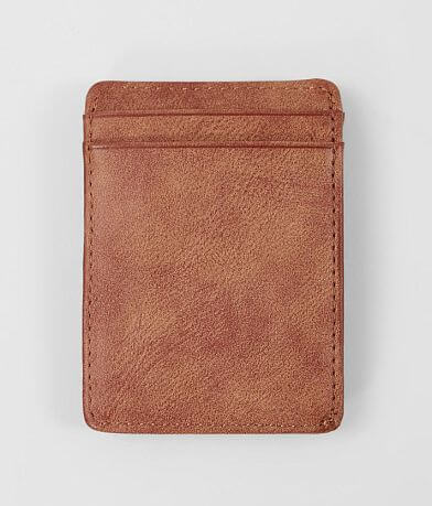 BKE Distressed Faux Leather Wallet