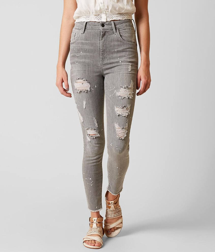 Guess Super High Rise Skinny Stretch Jean front view