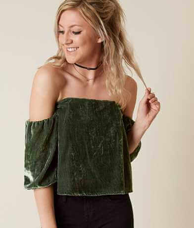 Guess Off The Shoulder Top