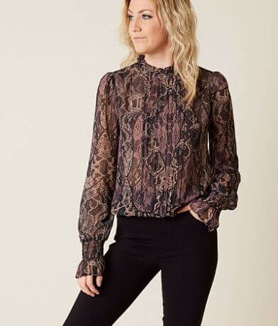Guess Tyler Pleated Blouse