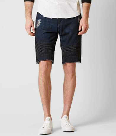 Guess Slim Pintuck Moto Short
