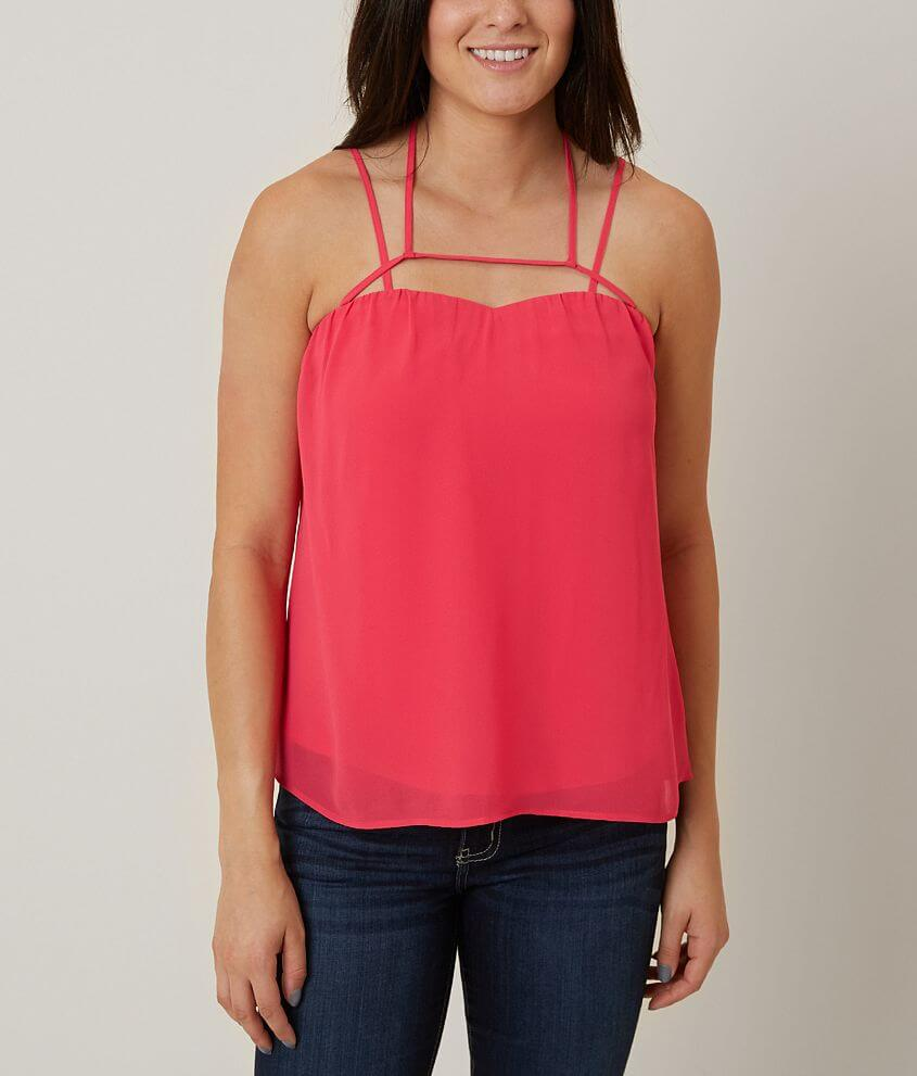 Daytrip Strappy Tank Top front view