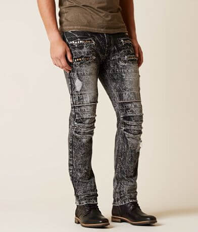 Grindhouse Washed Moto Jean