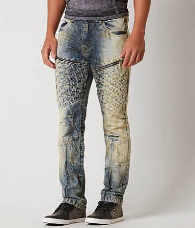 Grindhouse Slim Basket Weave Jean