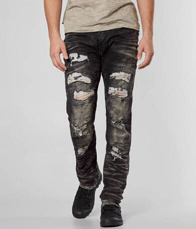 Grindhouse Shredded Moto Stretch Jean