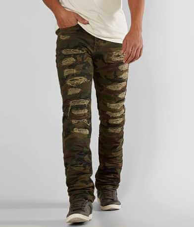 Grindhouse Shredded Camo Jeans