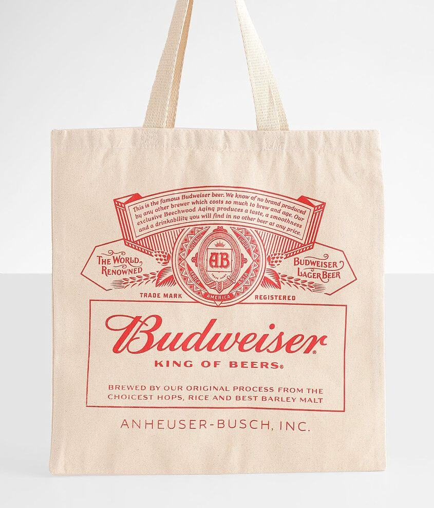 Budweiser® Canvas Tote front view