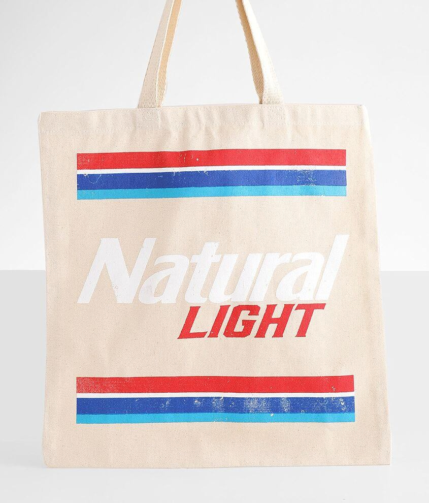 Natural Light Canvas Tote front view