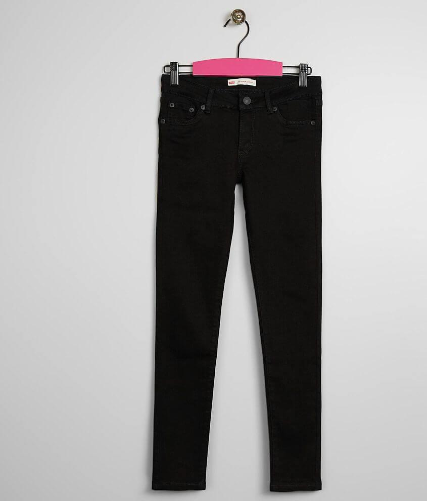 b46ae59d88f Girls - Levi's® 710 Super Skinny Jean - Girl's Jeans in Black | Buckle