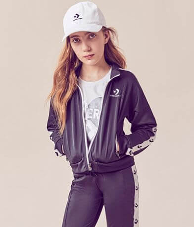 Girls - Converse Chevron Star Track Jacket