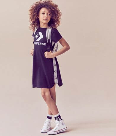 Girls - Converse Chevron Star Dress