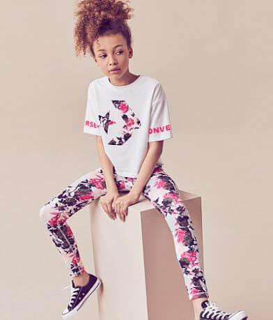 Girls - Converse Star Chevron T-Shirt