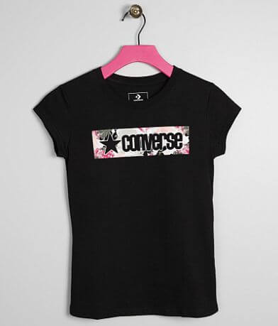 Girls - Converse Box Print T-Shirt