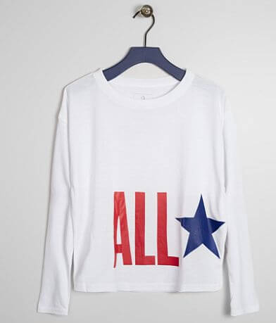 Girls - Converse All Star Oversized T-Shirt