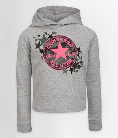 Girls - Converse Camo Star Hoodie