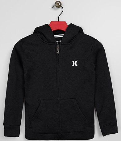 Little Boys - Hurley Knit Hooded Sweatshirt