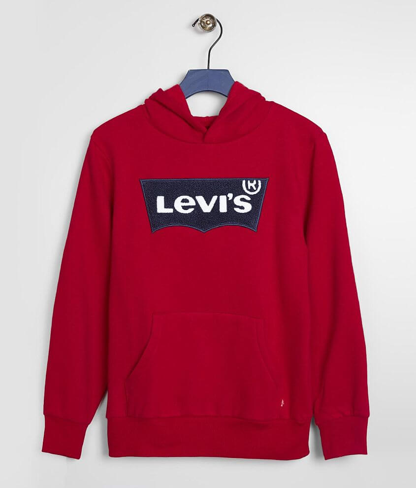Boys - Levi's® Batwing Hooded Sweatshirt front view