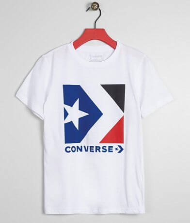 Boys - Converse Star Chevron T-Shirt