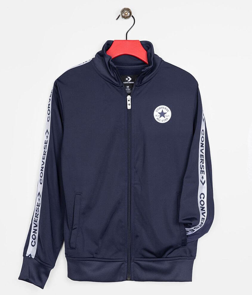 Boys - Converse Track Jacket front view