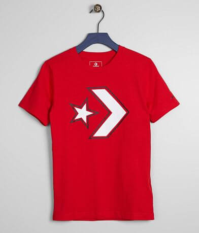 Boys - Converse Outlined Star Chevron T-Shirt
