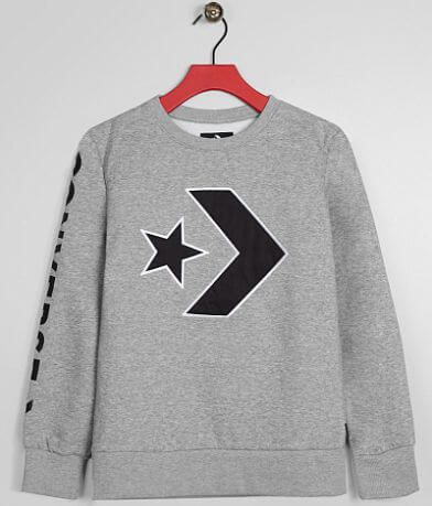 Boys - Converse Star Chevron Sweatshirt