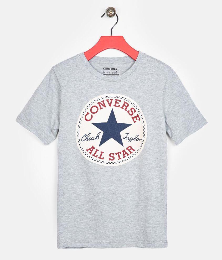 Boys Converse Chuck Patch T Shirt Boy's T Shirts in Dark