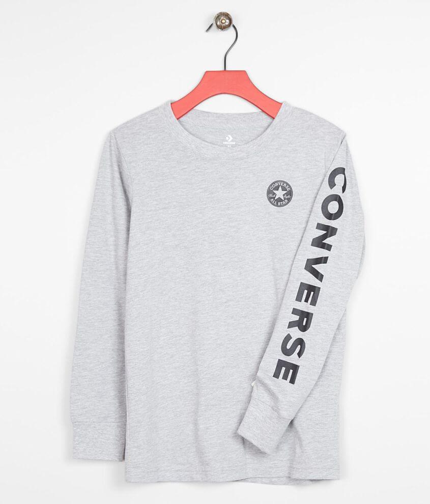 Boys - Converse Signature Chuck Patch T-Shirt front view