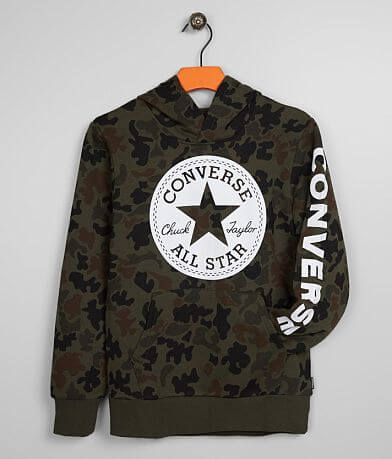 Boys - Converse Signature Camo Hooded Sweatshirt