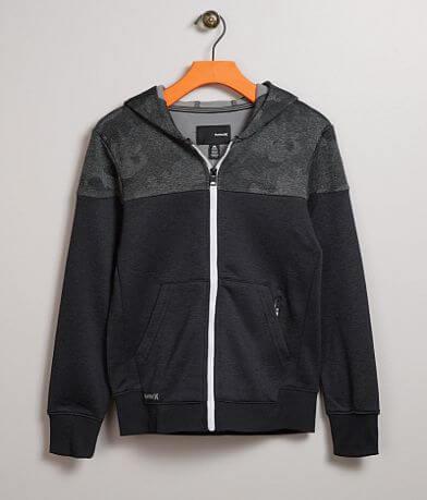 Boys - Hurley Dri-FIT Solar Camo Hooded Sweatshirt