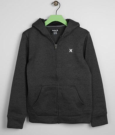 Boys - Hurley Sweater Knit Hooded Sweatshirt