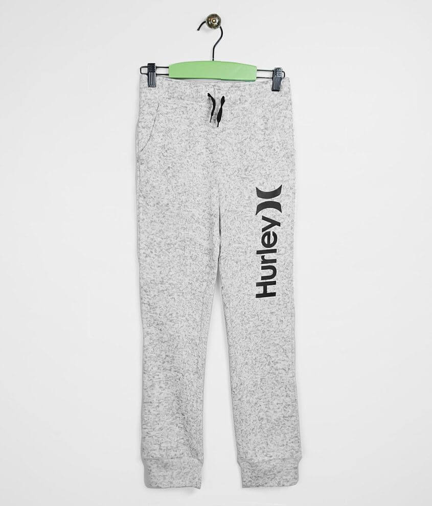 Boys - Hurley Sweater Knit Jogger Sweatpant front view