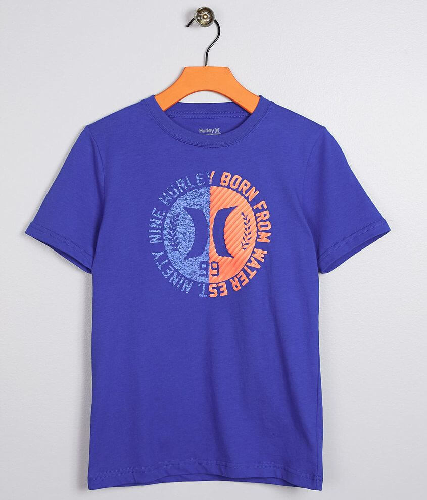 ea28d09eb Boys - Hurley Knew T-Shirt - Boy's T-Shirts in Game Royal   Buckle