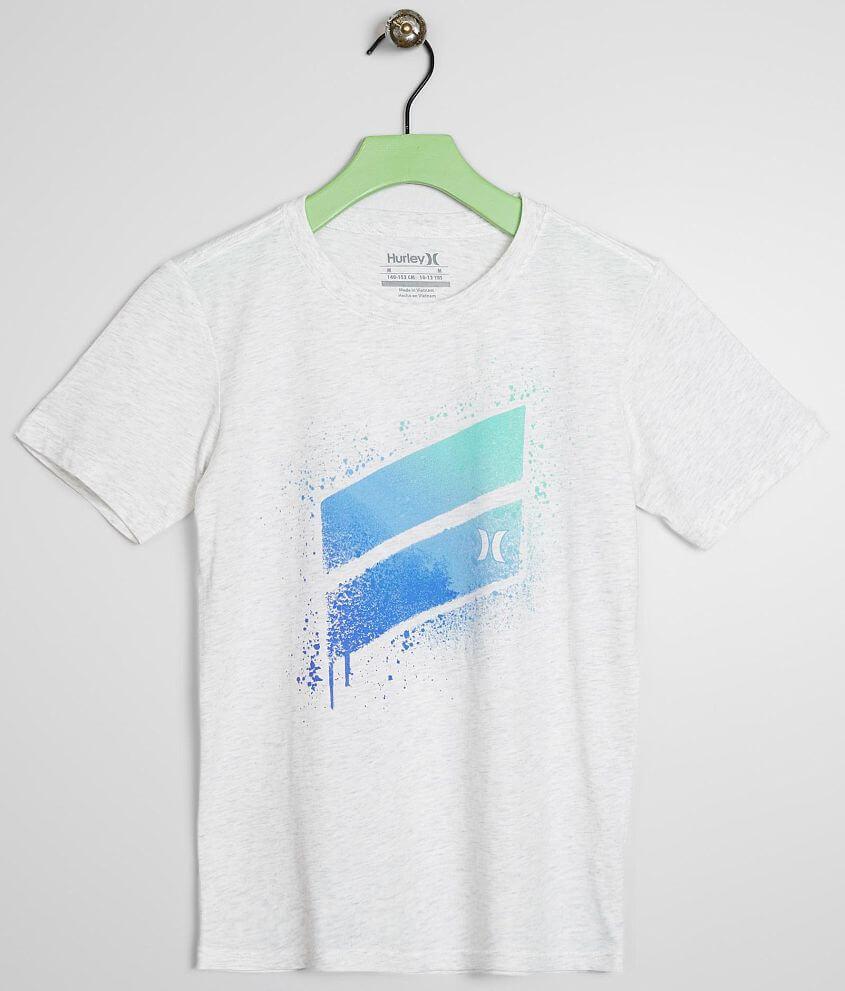Boys - Hurley Spray Slash T-Shirt front view