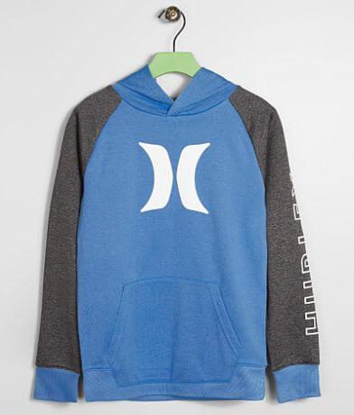 Boys - Hurley Solar Icon Dri-FIT Hooded Sweatshirt