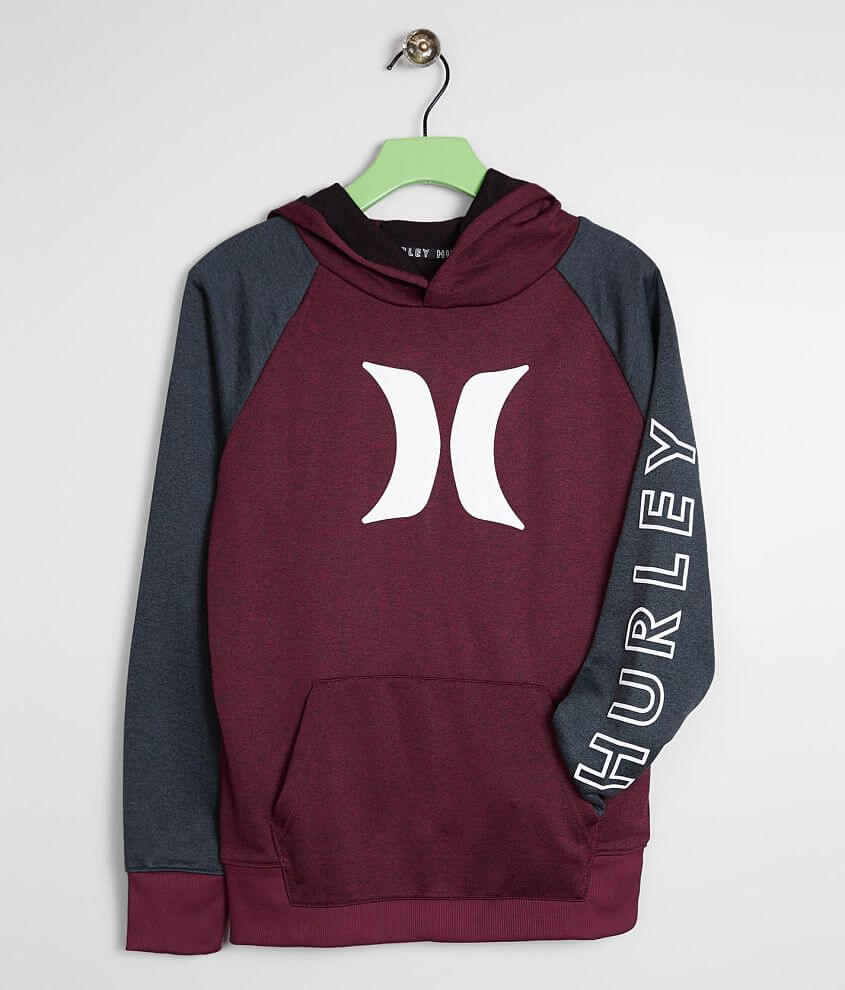 Boys - Hurley Solar Icon Dri-FIT Hoodie front view