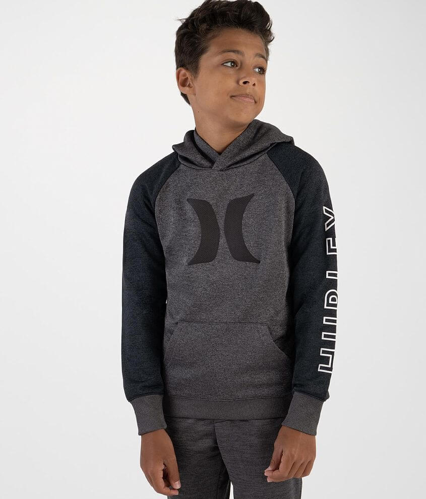Boys - Hurley Solar Icon Dri-FIT Hooded Pullover front view