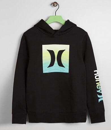 Boys - Hurley Ombre Icon Hooded Sweatshirt