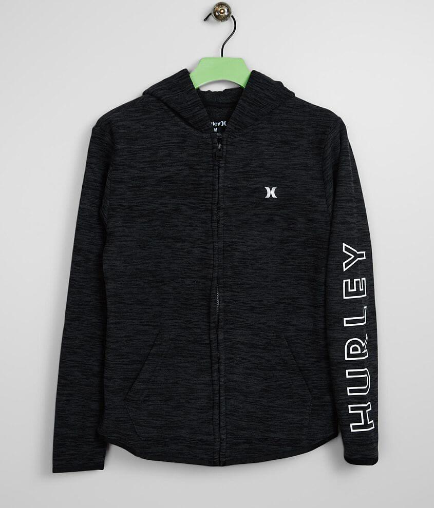 Boys - Hurley Protect Hooded Fleece Sweatshirt front view